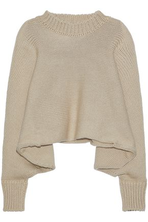 WOMAN KNITTED SWEATER BEIGE