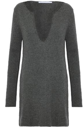ROSETTA GETTY Ribbed cashmere sweater
