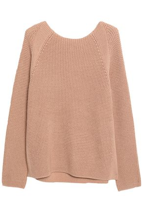 VINCE. Cotton stretch-knit sweater