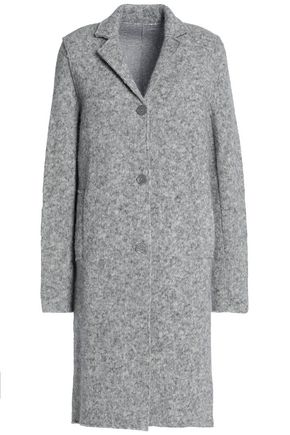 MAJESTIC FILATURES Mélange knitted alpaca-blend coat