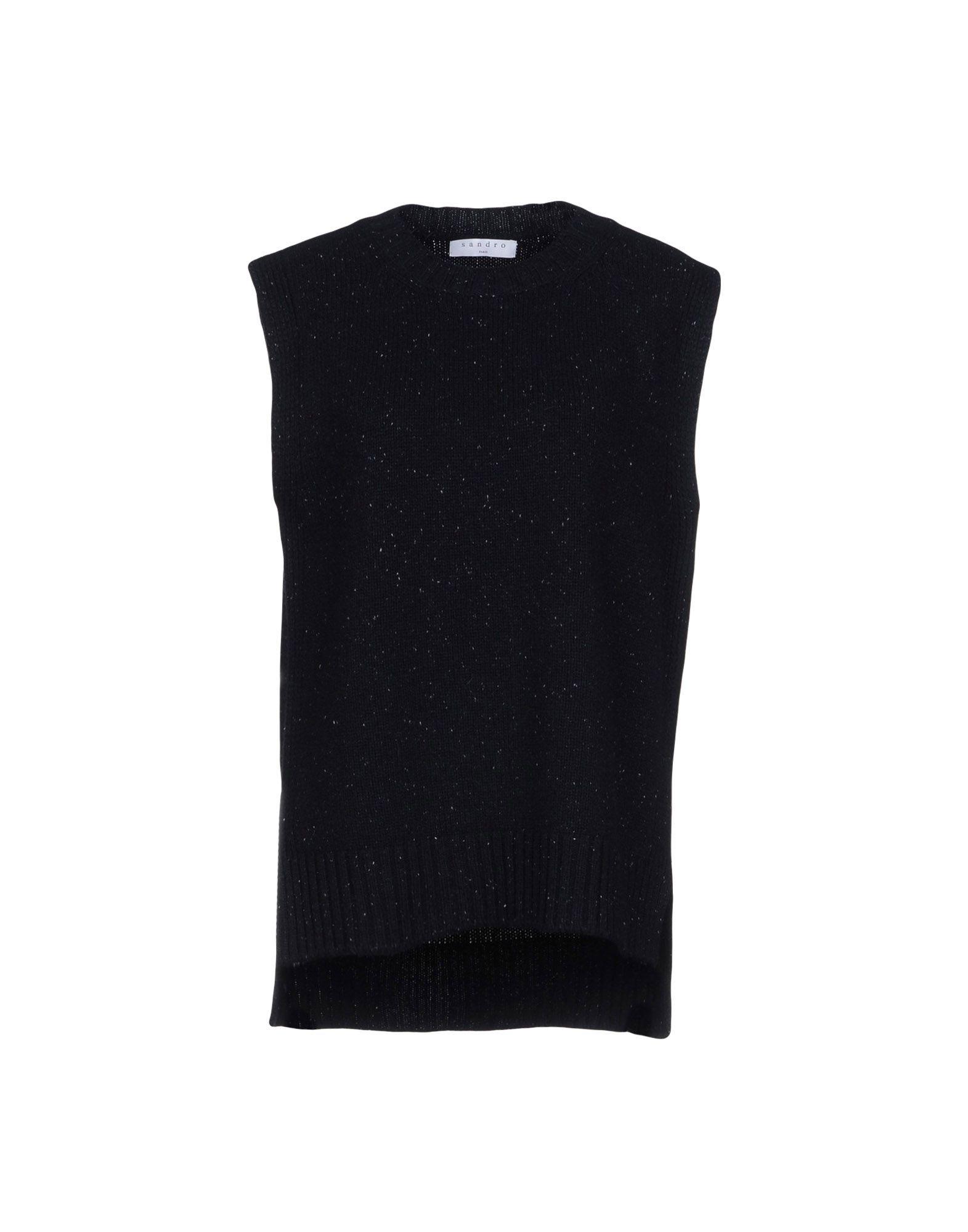 SANDRO PARIS Sweater in Dark Blue