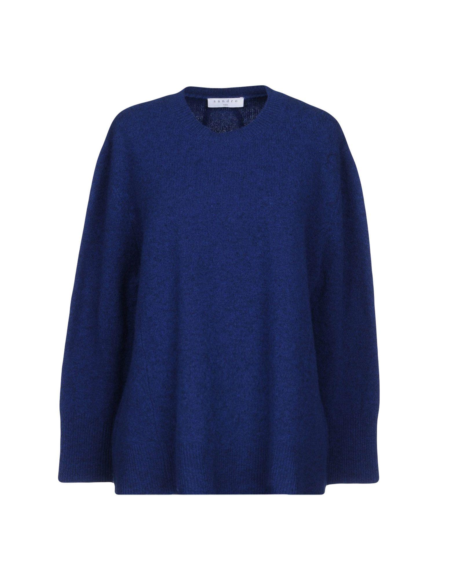 SANDRO PARIS Sweater in Blue