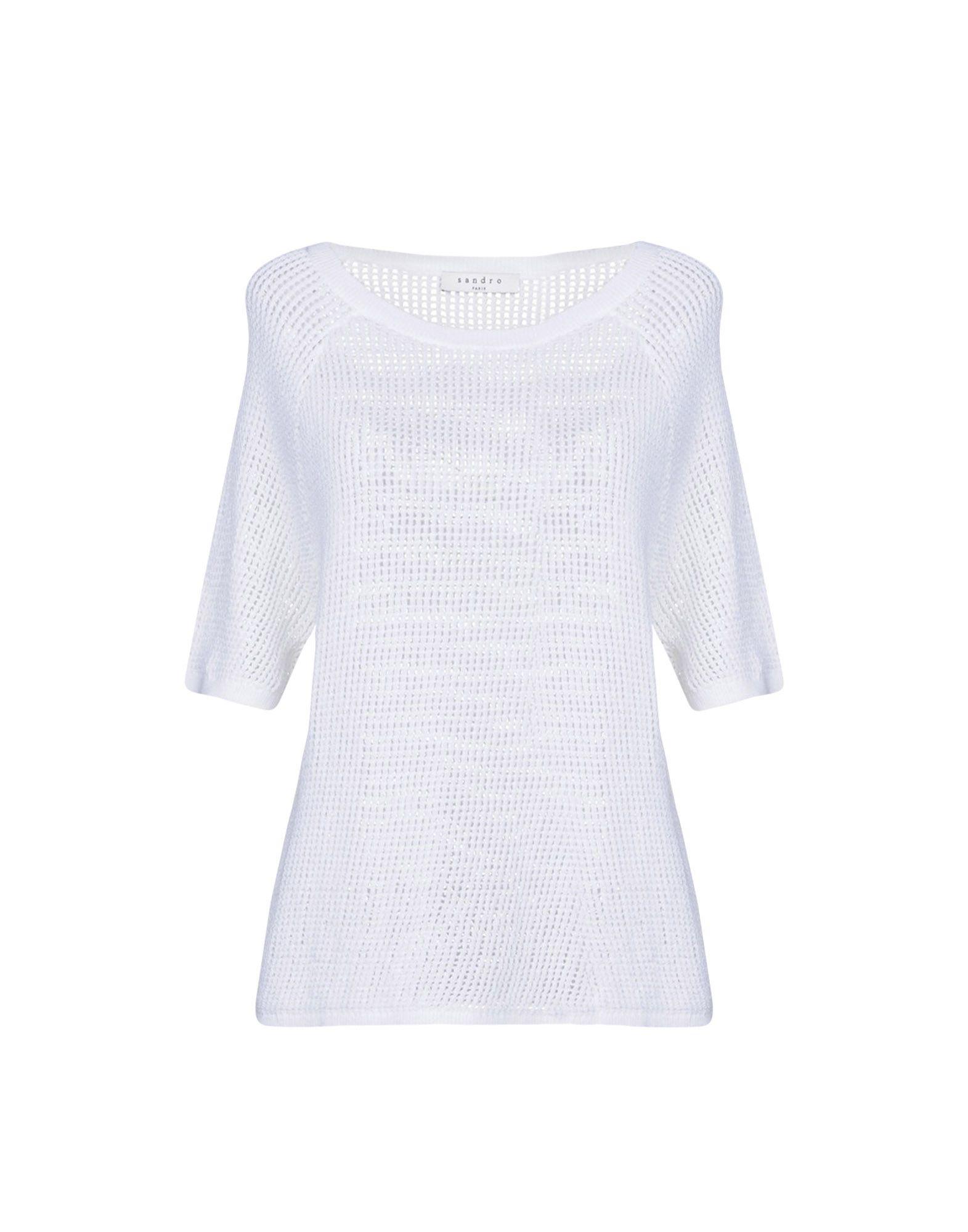 SANDRO PARIS Sweater in White