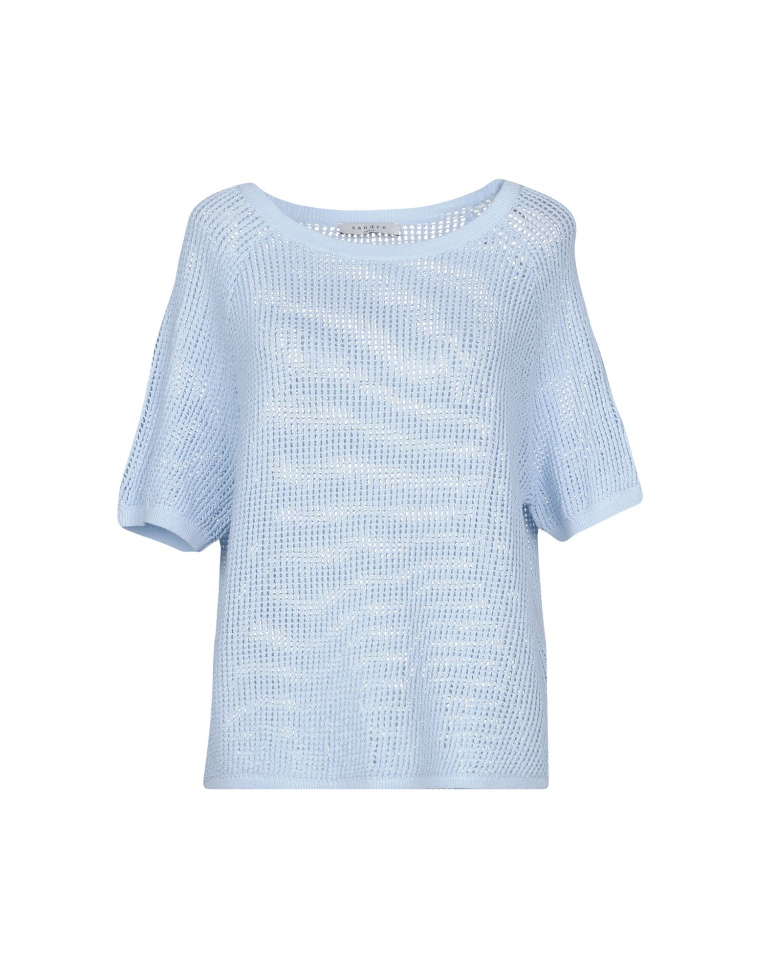 SANDRO PARIS Sweater in Sky Blue