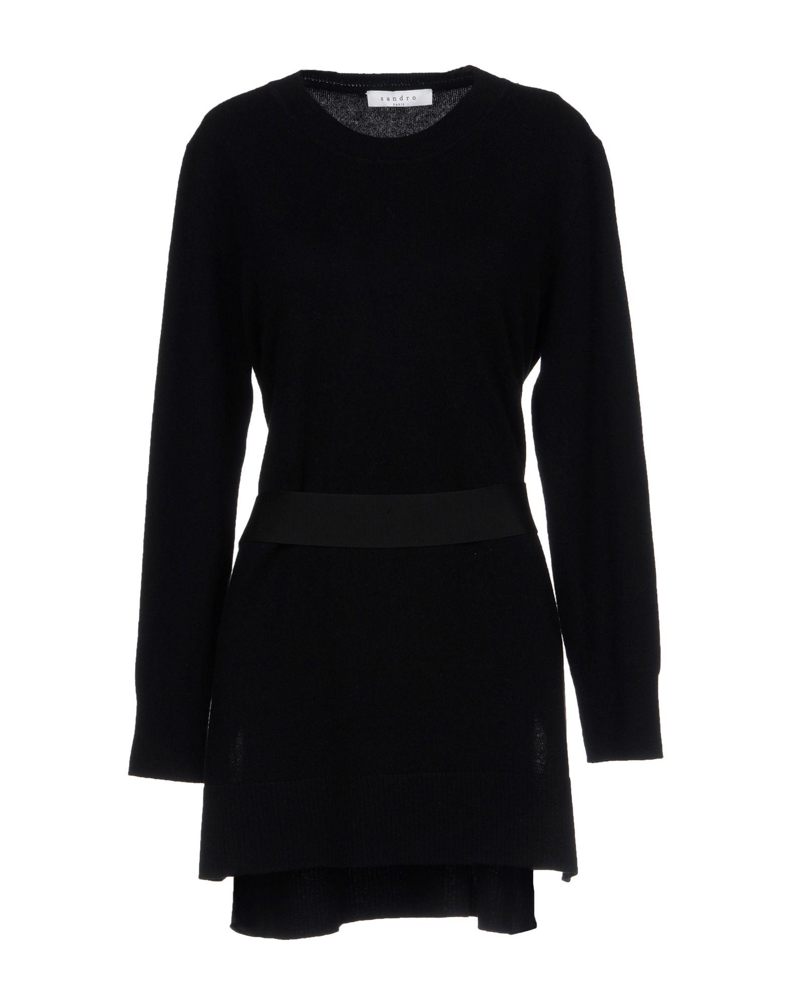 SANDRO PARIS Sweater in Black
