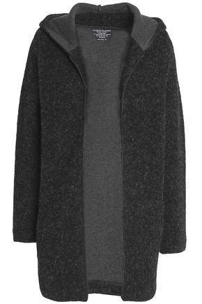 MAJESTIC FILATURES Aplaca-blend hooded cardigan