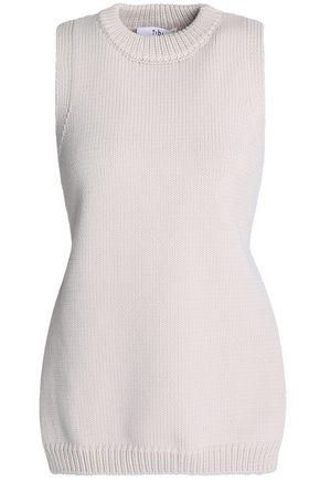 TIBI Tie-back cotton-blend sweater