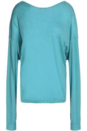 TIBI Button-detailed cashmere sweater