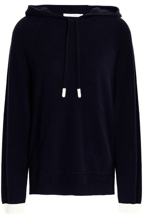 CHINTI AND PARKER Wool and cashmere-blend hooded sweatshirt