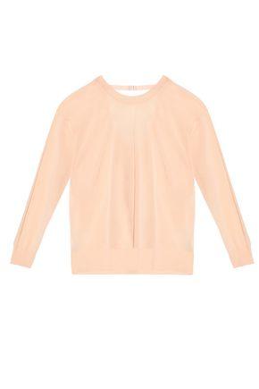 SANDRO Paris Cutout cotton-blend sweater