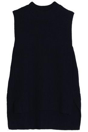 AMANDA WAKELEY Asymmetric merino wool sweater