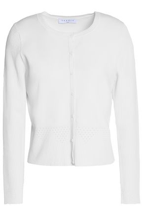SANDRO Laura stretch-knit cardigan