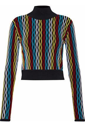 DIANE VON FURSTENBERG Ribbed wool-blend turtleneck sweater