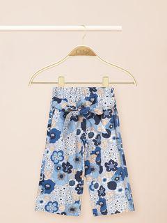 Jupe-culotte à imprimé floral