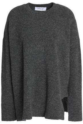 DEREK LAM 10 CROSBY Mélange wool-blend sweater