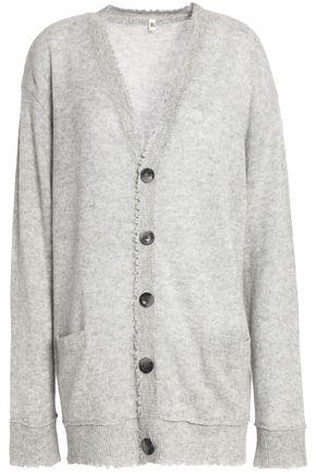 R13 Distressed cashmere cardigan