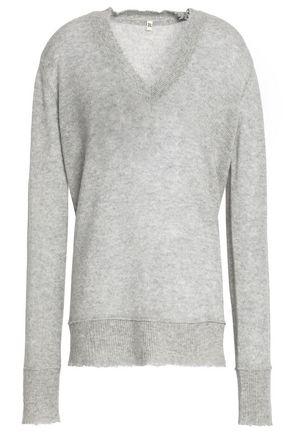 R13 Mélange cashmere sweater