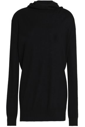 AMANDA WAKELEY Hooded cashmere sweater