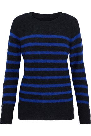 BY MALENE BIRGER Striped stretch-knit sweater