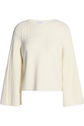 OSCAR DE LA RENTA Knitted wool sweater