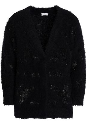 BRUNELLO CUCINELLI Sequined knitted cardigan