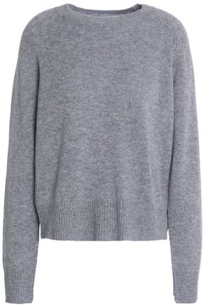 A.L.C. Mélange wool and cashmere-blend sweater