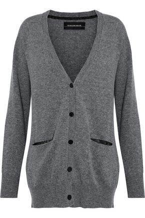 BY MALENE BIRGER Mélange wool and cashmere-blend cardigan