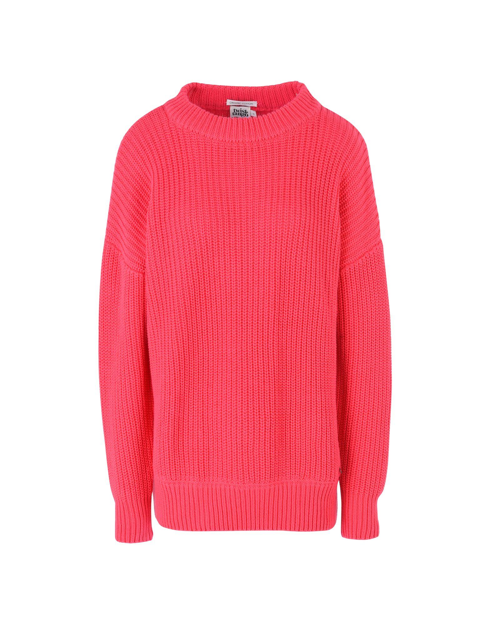 《セール開催中》TWIST & TANGO レディース プルオーバー フューシャ S オーガニックコットン 100% Magnolia Sweater