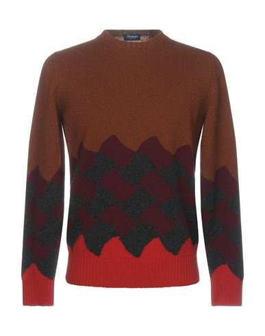 Купить Мужской свитер DRUMOHR коричневого цвета