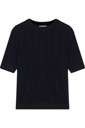 NINA RICCI Open-knit top