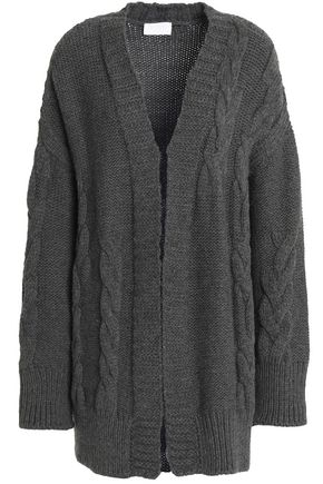 DKNY Draped merino wool cardigan