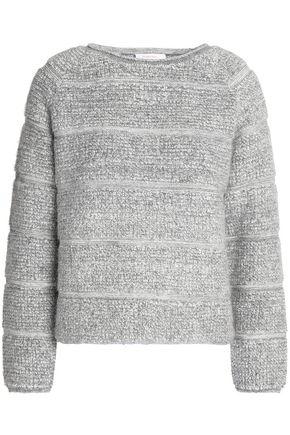 SEE BY CHLOÉ Striped bouclé-knit sweater