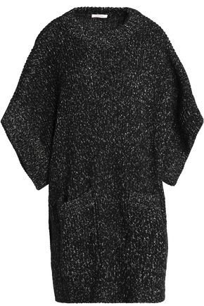SEE BY CHLOÉ Oversized marled bouclé-knit sweater