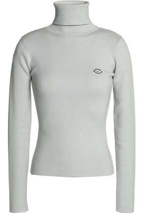 SEE BY CHLOÉ Cotton-blend turtleneck sweater
