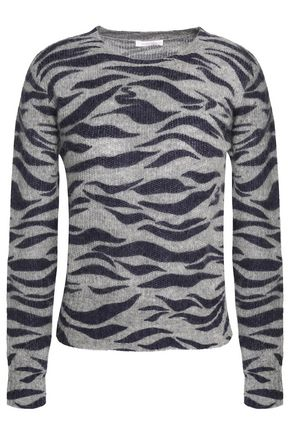 SEE BY CHLOÉ Brushed printed knitted sweater