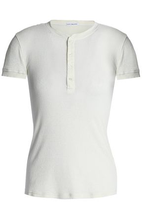 JAMES PERSE Cotton-terry sweatshirt