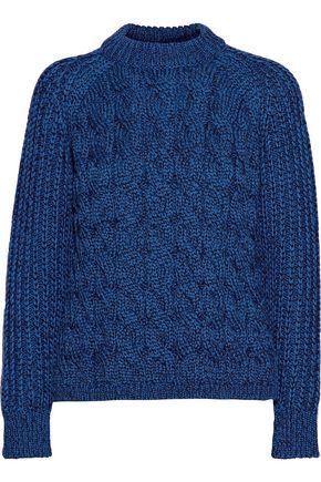 PROENZA SCHOULER Cable-knit silk-blend sweater