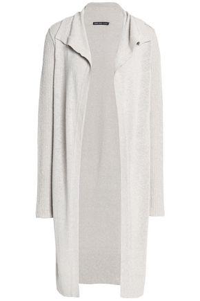 JAMES PERSE Open-knit silk-blend cardigan