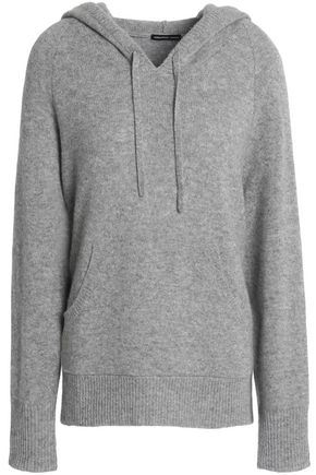 JAMES PERSE Cashmere hooded sweater