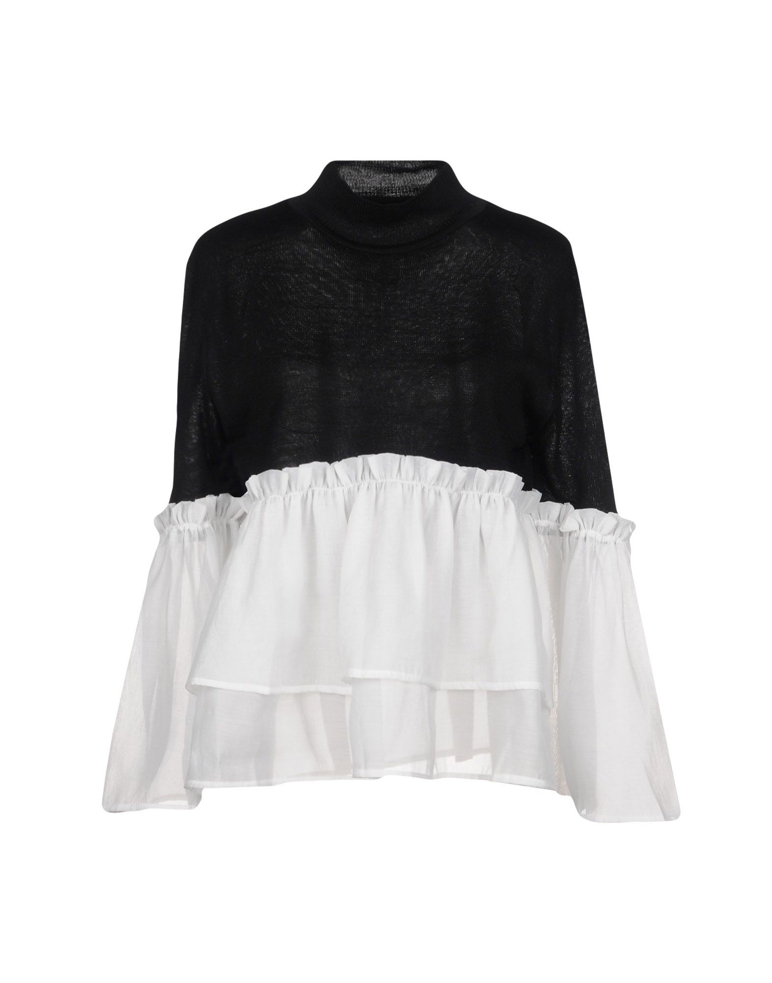 LOST INK Водолазки lost ink plus frill hem rib top