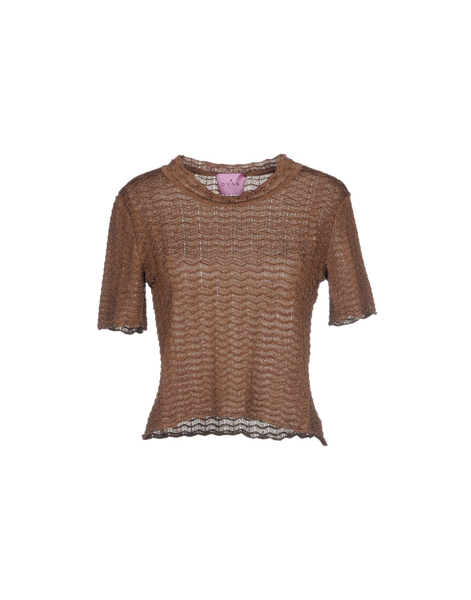 D'ENIA Sweater in Brown