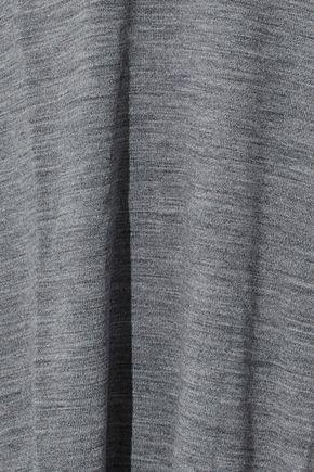 ALEXANDER WANG Cutout embellished merino wool sweater