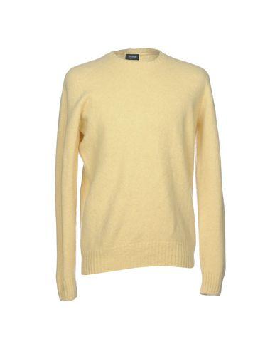 Купить Мужской свитер DRUMOHR желтого цвета