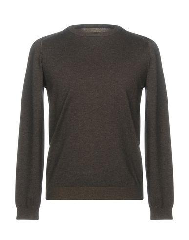 Купить Мужской свитер DIKTAT темно-коричневого цвета