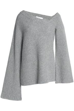 A.L.C. Ribbed-knit wool and cashmere-blend sweater