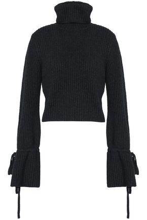 A.L.C. Ribbed merino wool-blend turtleneck sweater
