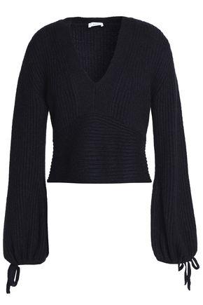 A.L.C. Ribbed merino wool-blend sweater