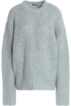 R13 Brushed ribbed-knit wool-blend sweater