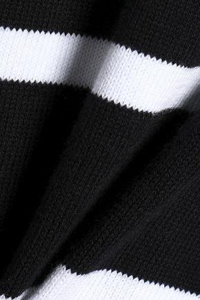 AUTUMN CASHMERE Breton striped cotton-blend sweater