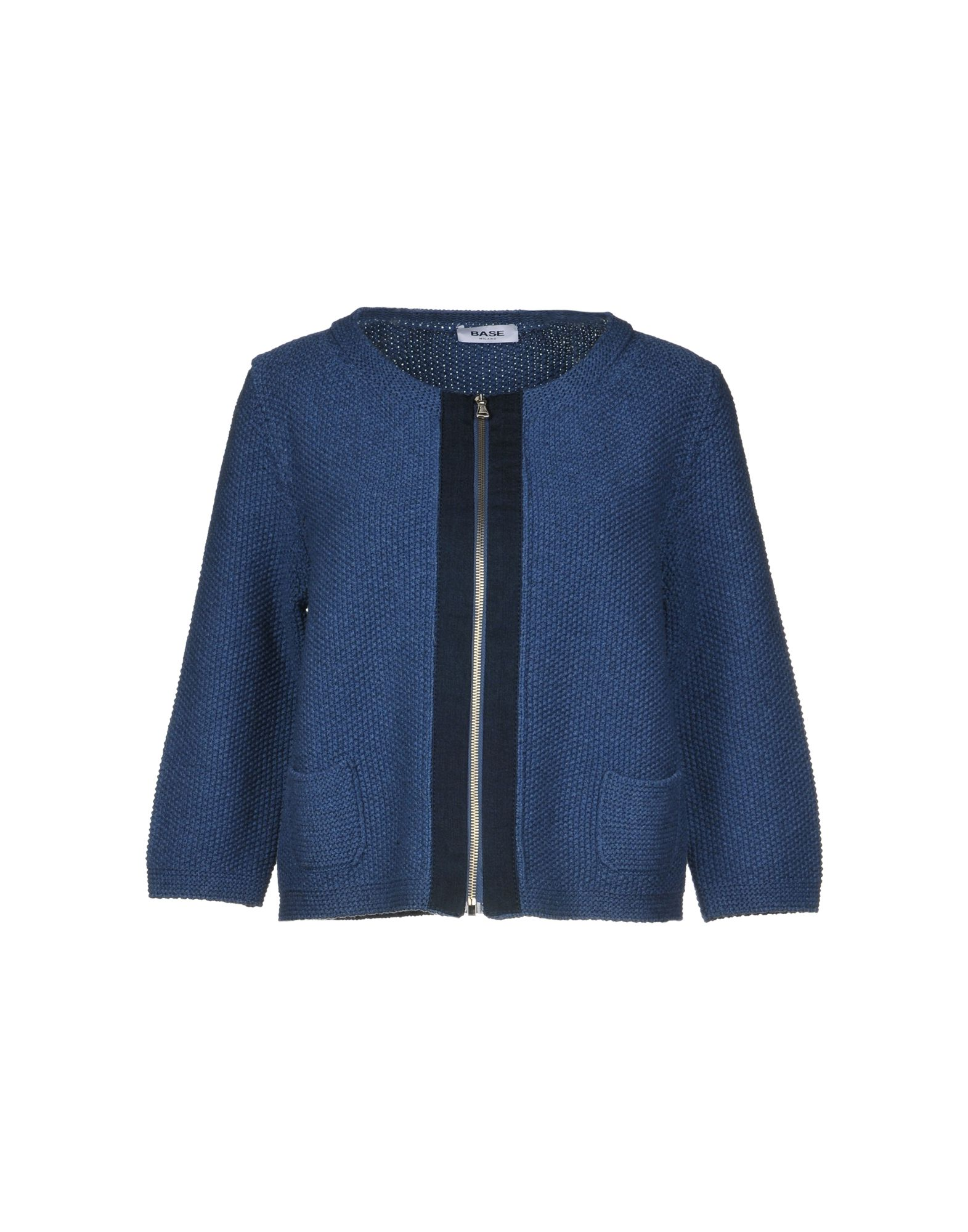 BASE Cardigan in Slate Blue